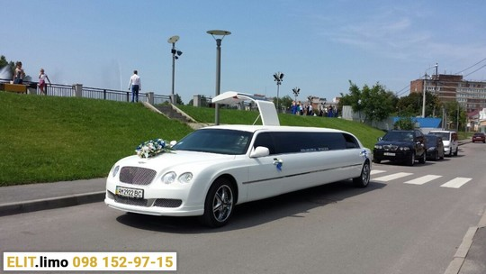 Лимузин Bentley Continental Flying Spur