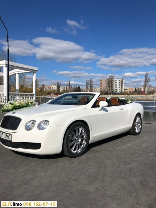 Седан Bentley Continental GT кабриолет