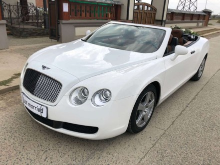 Седан Bentley Continental GT кабріолет
